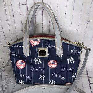 MLB NY Yankees Dooney & Bourke Mini Crossbody